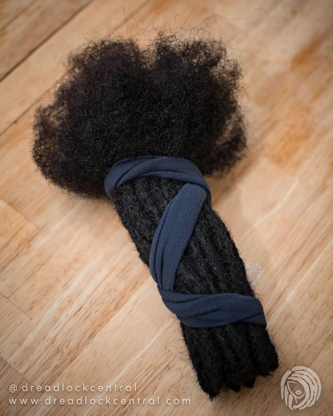 Human Hair Loc Extensions All Custom Orders Any Length