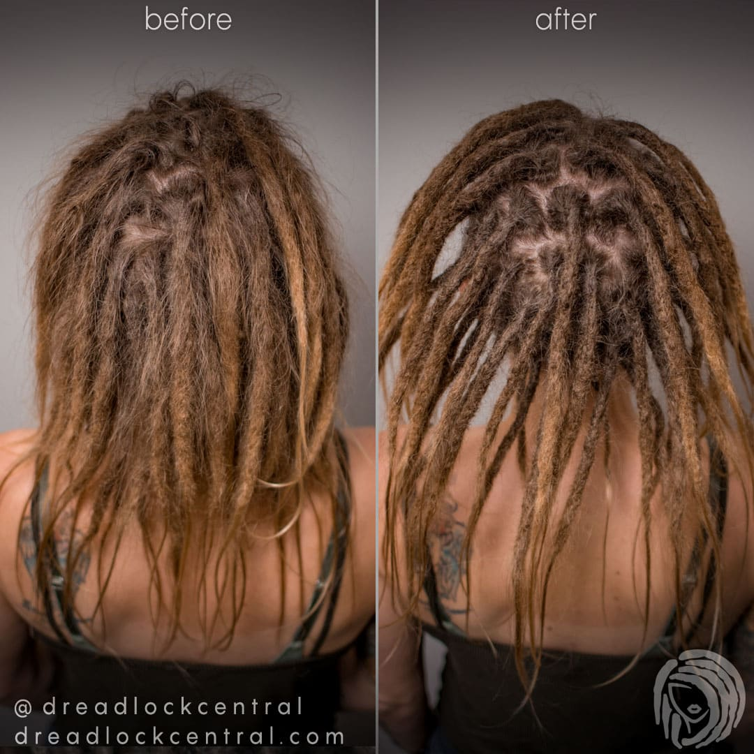 Caucasian Dreadlock Maintenance with the Crochet Method