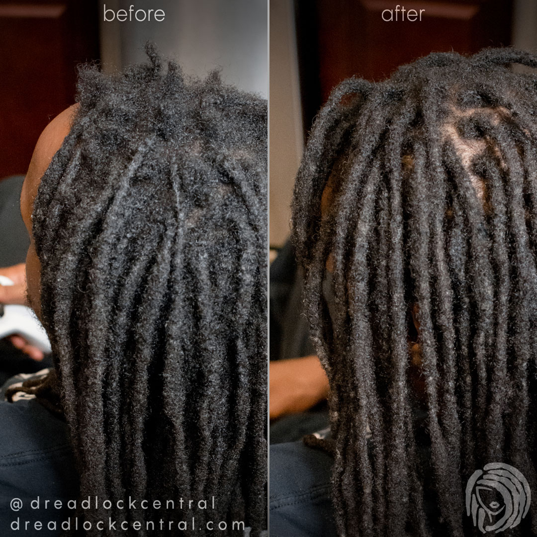 Dreadlock Reattachment and Repair