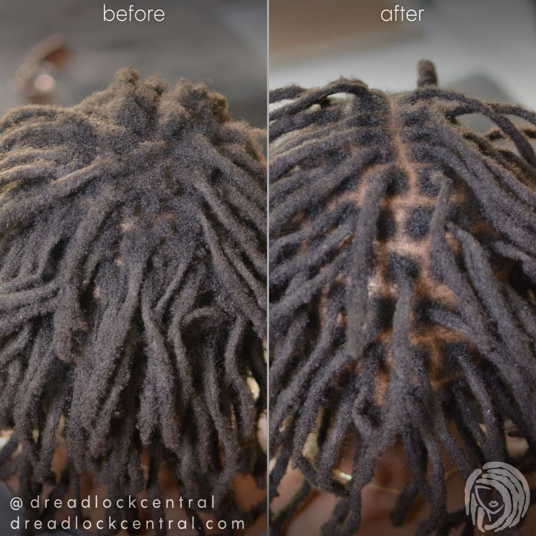 Loc Maintenance for Afro Hair with the Crochet Method