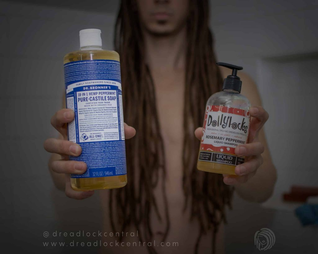 Castile Soap for Dreadlocks - Not as safe and effective as